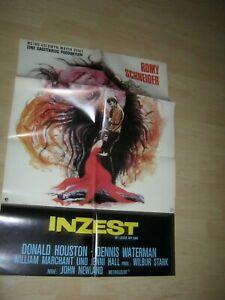 Inzest-Romy Schneider Orginal A1 Kinoplakat