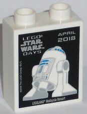 LEGO Legoland Star Wars Days May 2018 Malaysia collectors promo brick block NEW