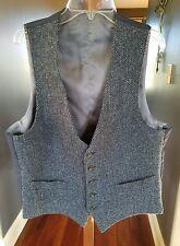 ALLEN EDMONDS Harris Tweed Navy Vest. Retail $225.00 NWT. Size M - 40 Reg.