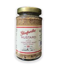 Glenfarclas Mustard with Single Highland Malt Scotch Whisky 200g