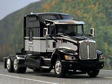 """1/64 DCP BLACK/WHITE KENWORTH T660 W/ 86"""" SLEEPER"""