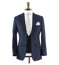 Ex Location Mariage Costumes 2 pièces ou 3 pièces! Bleu marine, gris ou marron. gratuite Shirt avec