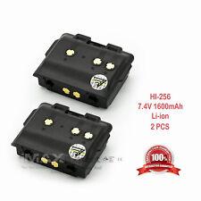 2 x 1600mAh BP-256 Battery for ICOM IC-92AD IC-E92D ID-92 Dual Band Transceiver