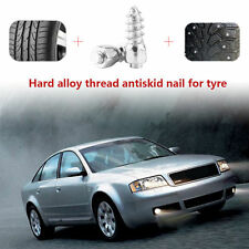 100x 12mm Car Vehicle ATV Anti-Slip Screw Stud Wheel Tyre Snow Tire Spikes Trim