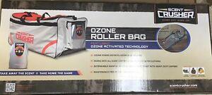 Scent Crusher Ozone Deer Hunting Odor Block Gear Roller Bag, Blaze Orange & Tan