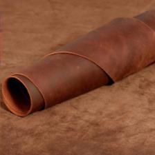 Vintage Thick Leather Hide Cowhide Leather Scrap Pieces Wallet Bag DIY Craft