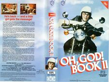 OH! GOD! BOOK II - George Burns -VHS -PAL -NEW-Never played!-Original Oz release