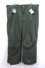 NEW mens green COLUMBIA BUGABOO II ski snow pants snowboarding 4XT 4XLT