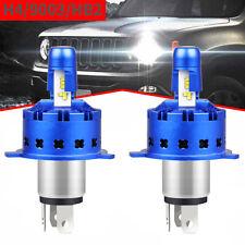 2x H4 HB2 9003 LED Headlight Conversion Kit Hi/Lo Beam Bulbs 6000K White 20000LM