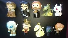 Funko Mystery Mini Game Of Thrones collection of 10 figures Dragons Direwolves