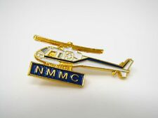 Vintage Collectible Pin: NMMC Rescue Helicopter Medical Life Flight Design