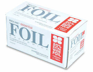 Procare Essential Hair Foil 100mm x 100m- New Foil With 20% Extra Wide
