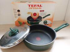 High Quality Tefal Optimal 24cm 3L Sauté in Pan Original Box 14D