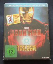 IRON-MAN TRILOGY - GERMANY BLU-RAY STEELBOOK WITH BONUS COMIC - NEW & SEALED!