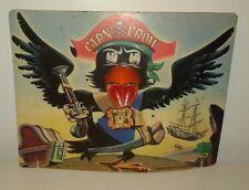 Vintage Shooting Game Cap'n Crow Pirate Colorful Fun! 1940's