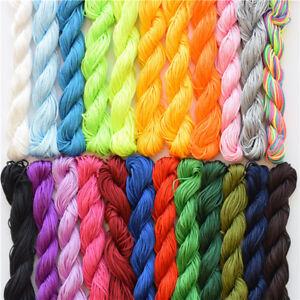 25M Nylon Cord Beads Bracelet Thread 1mm Braided Fashion Jewelry Making DIY _HF