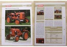 FAHR Traktor Schlepper D 90 1953 Weltbild