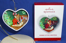 Hallmark Series Ornament Cookie Cutter Christmas #2 2013 Mouse Writes to Santa