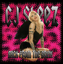 CJ Sleez- Back From The Brink EP- CD