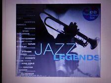 3 CD BOX SET  JAZZ LEGENDS ~RARE! BILLIE HOLIDAY COUNT BASIE MILES DAVIS ++