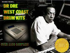 Dr Dre - West Coast - Style Drums Over 1150 Samples - .wav Samples Download