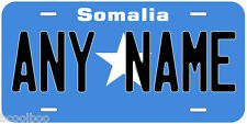 Somalia Flag Any Text Personalized Aluminum Novelty Car License Plate