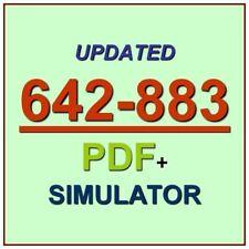Cisco CCNP Service Provider Network Routing SPROUTE Test 642-883 Exam QA PDF+SIM