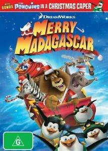 Merry Madagascar (DVD, 2018), NEW SELAED AUSTRALIAN RELEASE REGION 4
