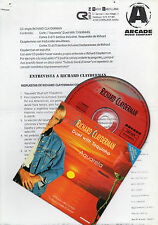 "RICHARD CLAYDERMAN & TOQUINHO ""AQUARELA"" SPANISH PROMO CD +INTERVIEW + GREETINGS"