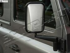 DEFENDER SILVER XS ENHANCEMENT WING MIRROR COVER EXCLUDING ARM DA6893