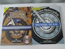 Proficient Motorcycling Motorcycle Riding Book Lot of 2 by David Hough
