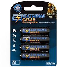 Extremecells 4er Pack Micro AAA Bateria HR03 baterías recargables de Ni-mh wieder
