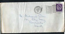 Cover: 1960 London Postmark & Stamp to Rochester with Letter