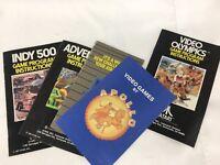 1977 Vintage Atari Video Olympics Game Program Instructions Lot