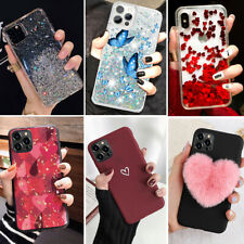 Bling Glitter Girls Case Quicksand Cover For iPhone 12 Pro Max 11 XR XS MAX 7 8+