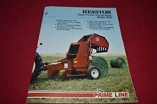 Hesston 5530 Round Baler Dealer's Brochure DCPA2