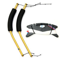Professional Quad Line Stunt Kite Flying Tools Set with Handles and Dyneema Line
