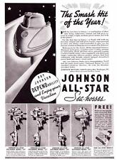 1937 Vintage ad Johnson Outboard Motors Sea Horse All Star Models