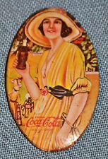 """Coca Cola Advertising Mirror 2 3/4"""" x 1 3/4"""""""