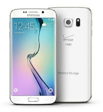 """New"" Samsung Galaxy S6 Edge 32GB G925V Unlocked Verizon Smartphone White"