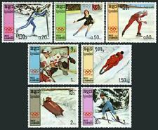 CAMBODGE Kampuchea N°705/711** JO , 1987 Olympic Games CAMBODIA Sc#752-759 MNH