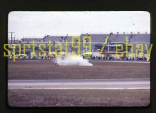 1980 Daytona 24 Hours - Infield Wreck - Vintage 35mm Race Slide