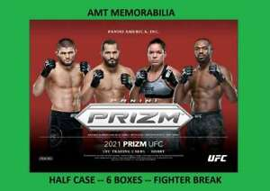 Max Holloway 2021 Panini PRIZM UFC HALF Case 6x BOX BREAK #2