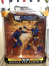 DCUC BATTLE FOR EARTH 3 ULTRAMAN VS ALEXANDER LUTHOR Mattycollector NIB Universe