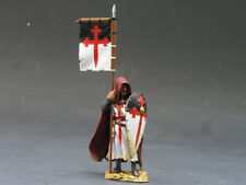 KING AND COUNTRY MK010 MK10 - KNIGHT WITH FLAG & SHIELD - CRUSADERS 1:30 SCALE