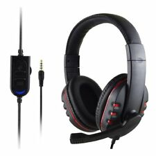 3.5mm Gaming Headset MIC Stereo  Headphone for PC Mac Laptop PS3 PS4 Xbox one ZQ