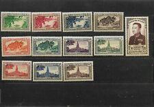 Laos - 1951/1961 - 5 Complete set - mint hinged