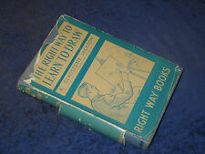 THE RIGHT WAY TO LEARN TO DRAW, A. Gladstone Jackson, HB 1953. Amateur artist