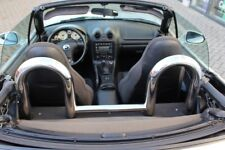 mazda mx5  ROLL BARS  Mazda 1998 to 2006  CHROME