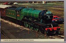 Colourmaster STT7 L.N.E.R A3 Class No.4475 'Flying Scotsman' Postcard